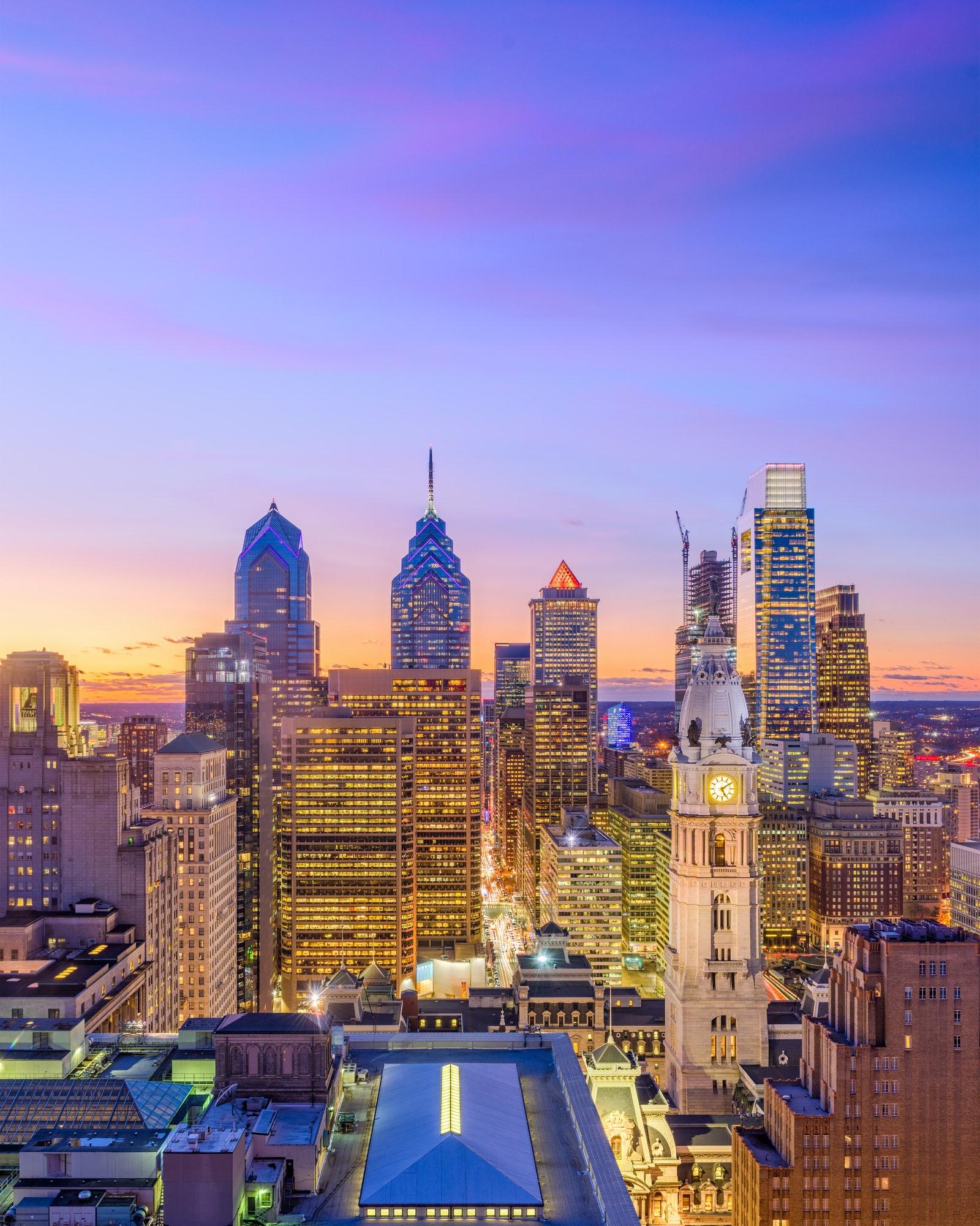 Philadelphia Pennsylvania Cityscape